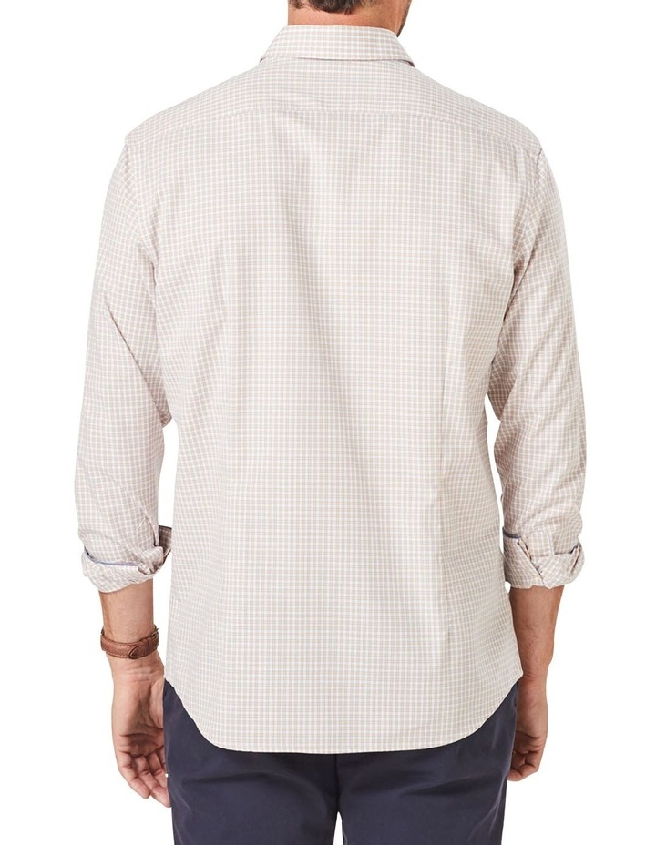 Casual Stretch Check Long Sleeve Shirt image 2