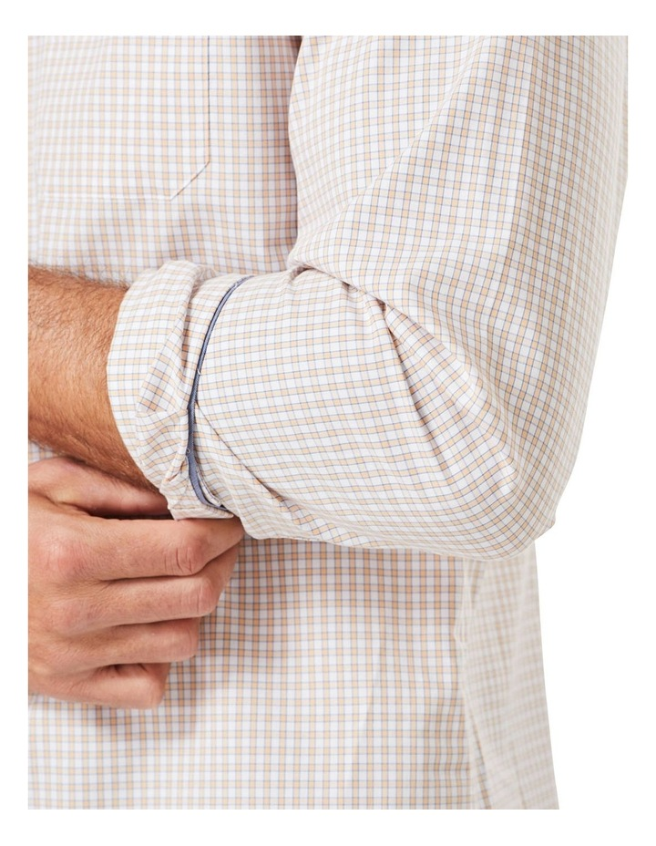 Casual Stretch Check Long Sleeve Shirt image 3