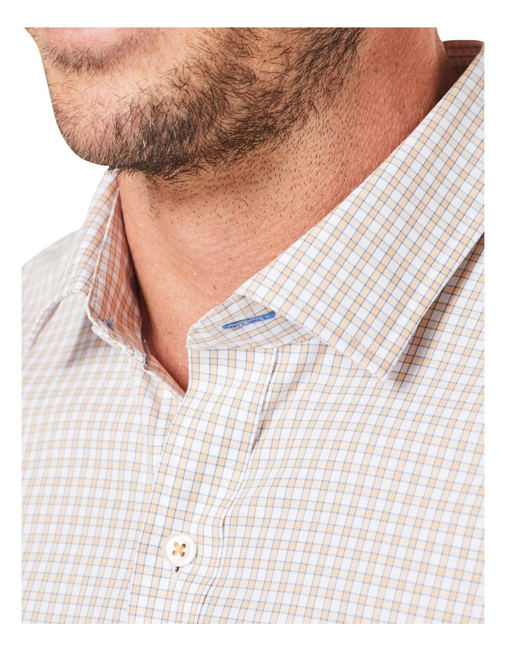 Casual Stretch Check Long Sleeve Shirt image 4