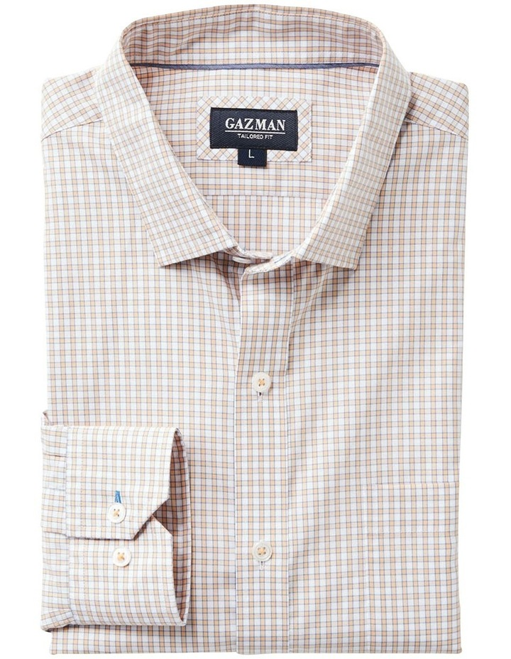 Casual Stretch Check Long Sleeve Shirt image 5