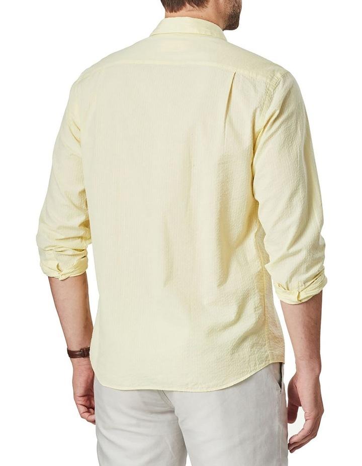 Textured Plain Long Sleeve Shirt image 2