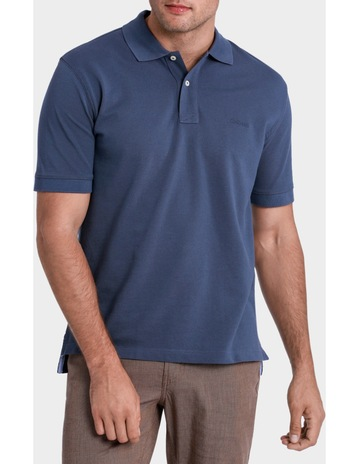4b0a669be8 GazmanClassic Pique Polo Denim. Gazman Classic Pique Polo Denim. price.  $59.95. Buy ...