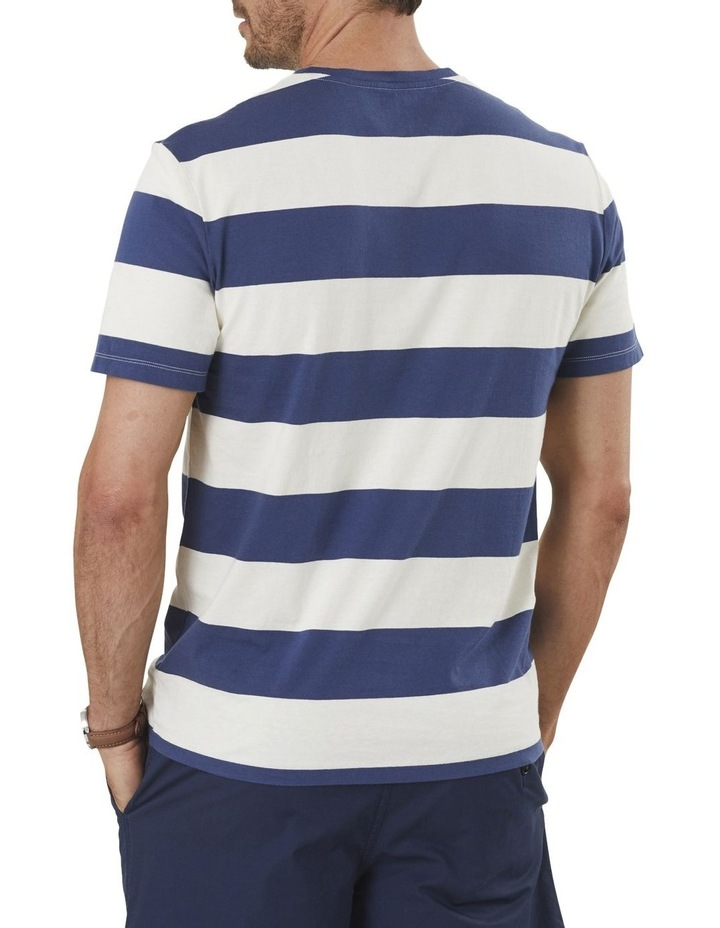 Block Stripe Pocket Tee image 2