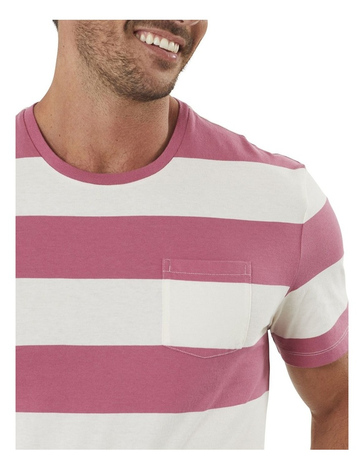Block Stripe Pocket Tee image 3