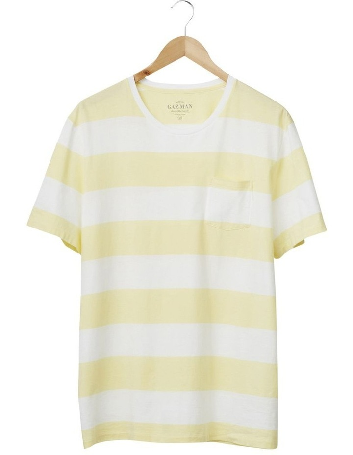 Block Stripe Pocket Tee image 4