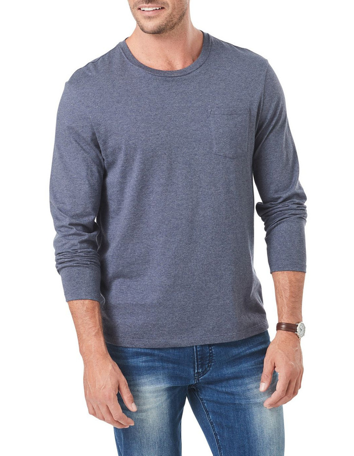 Long Sleeve Pocket Tee image 1