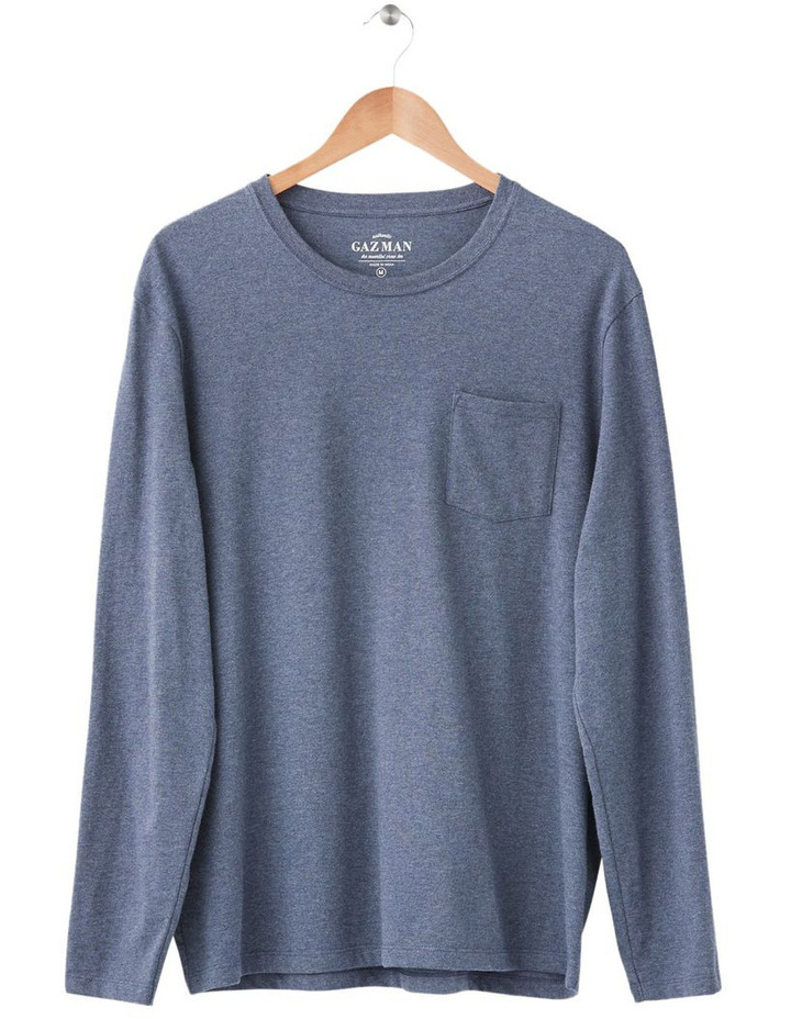 Long Sleeve Pocket Tee image 4