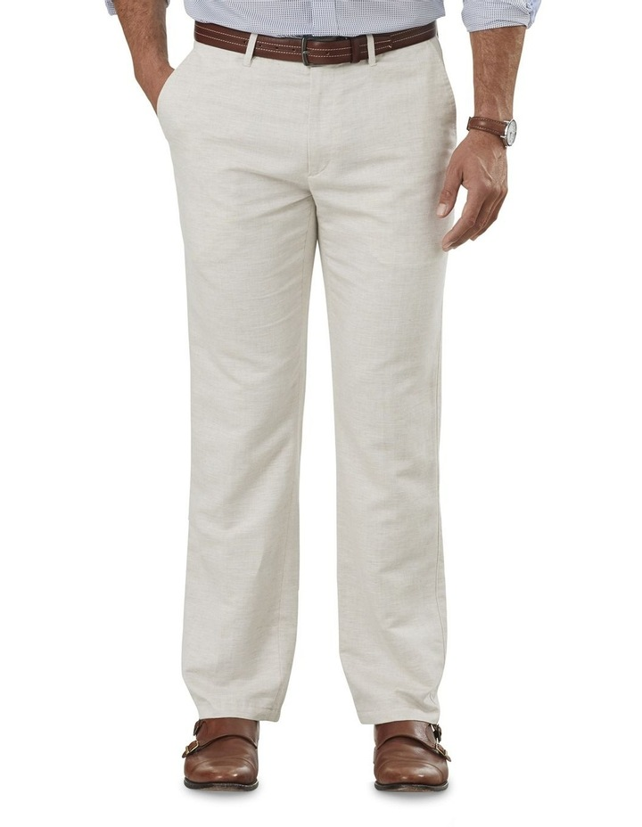 Light Weight Linen Blend Pant image 1