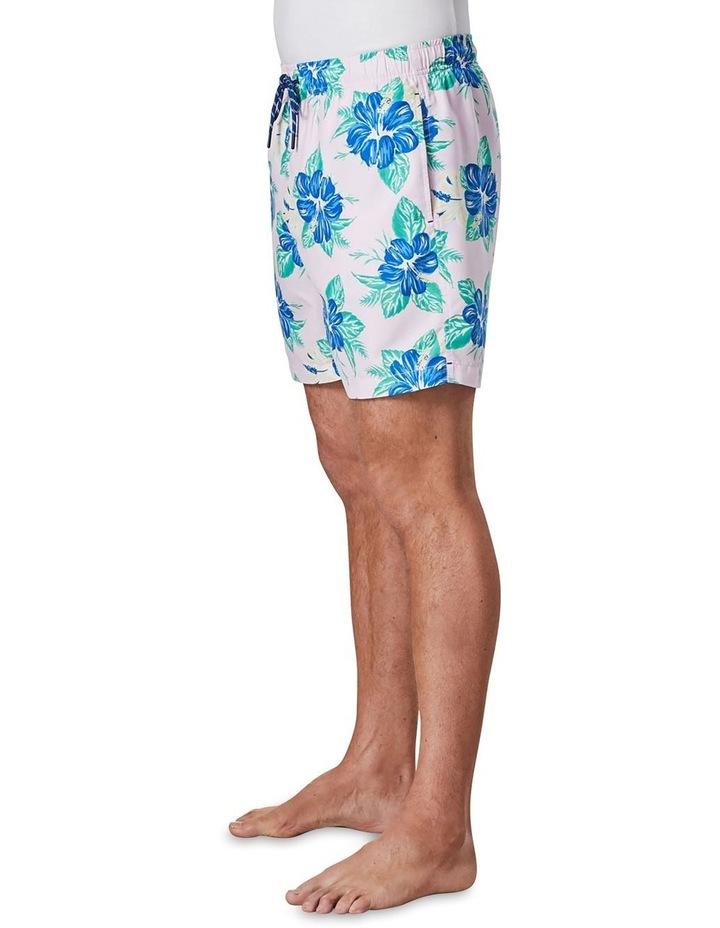Hibiscus Swim Short  Pale Pk image 4