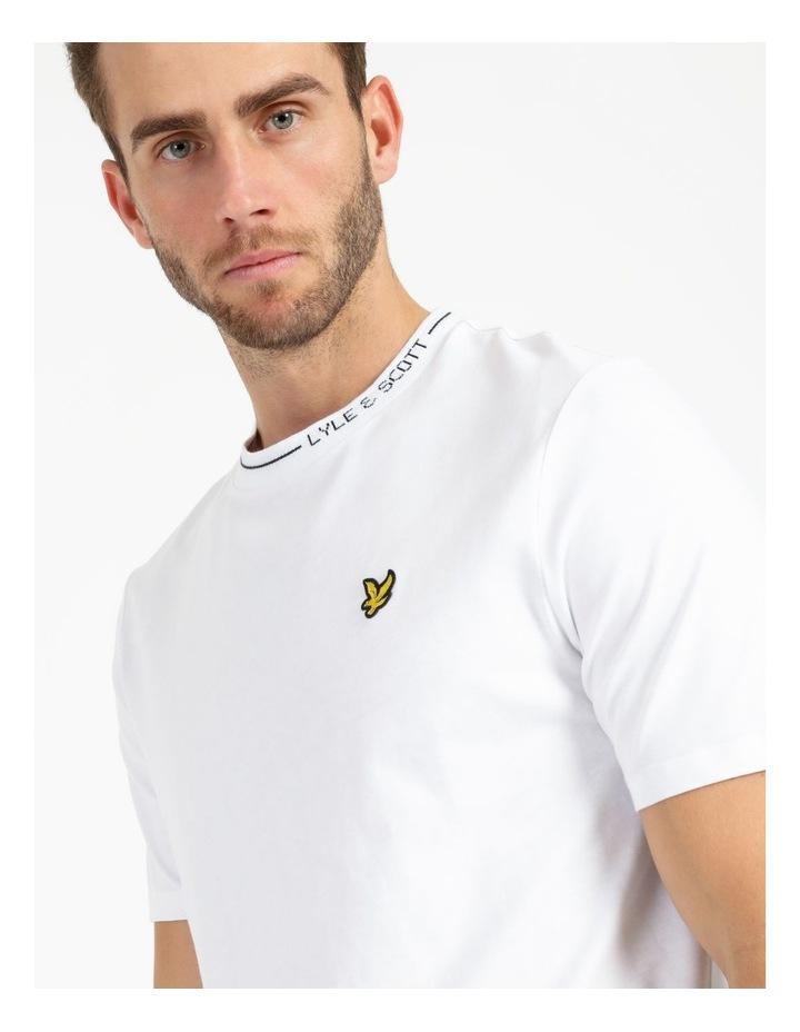 Branded Ringer T-Shirt image 4