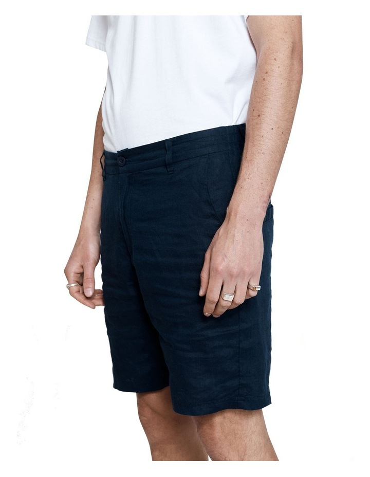 Tanner Short 2.0 Navy Linen image 4