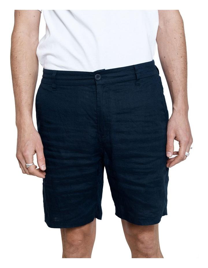 Tanner Short 2.0 Navy Linen image 5