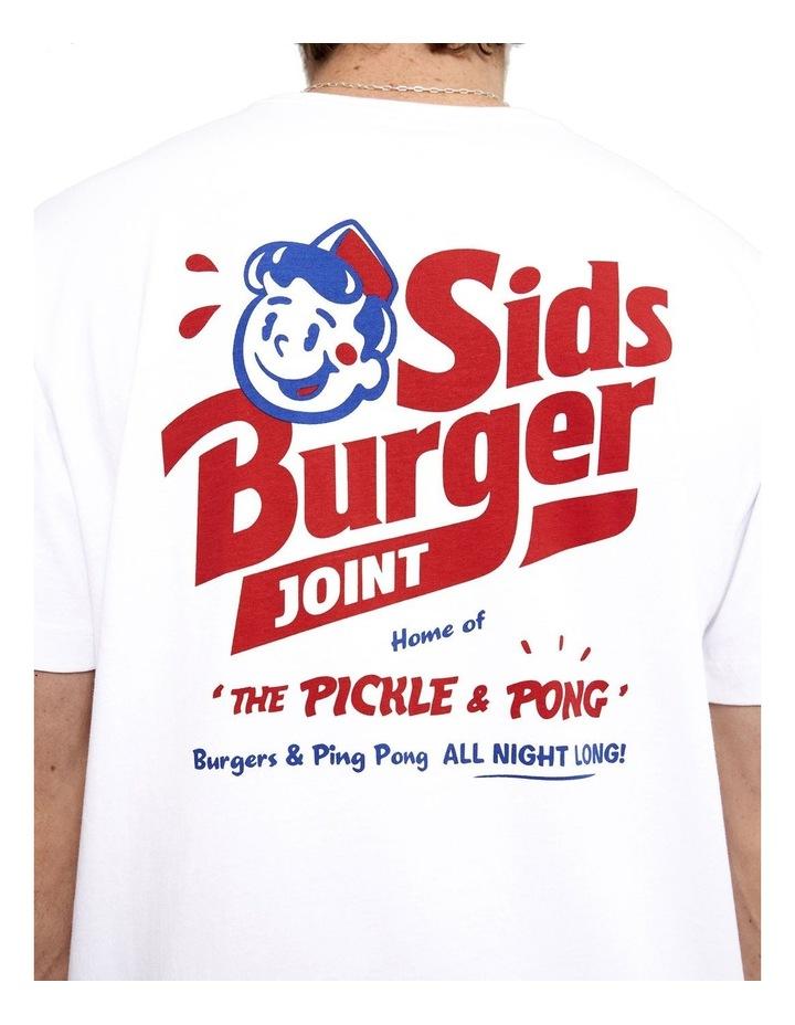 Tourist Tee - Sids Burger image 1
