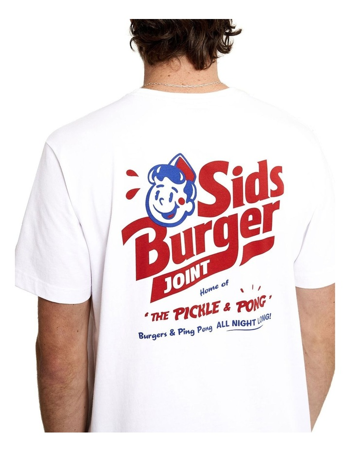 Tourist Tee - Sids Burger image 2