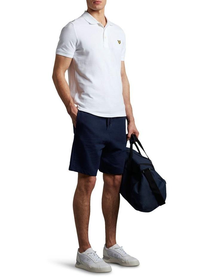 Plain Polo Shirt White image 2