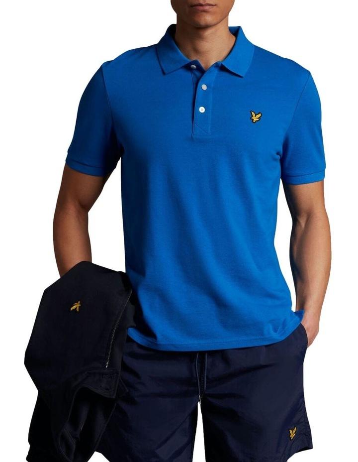 Plain Polo Shirt Blue image 1