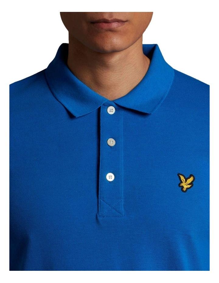 Plain Polo Shirt Blue image 4