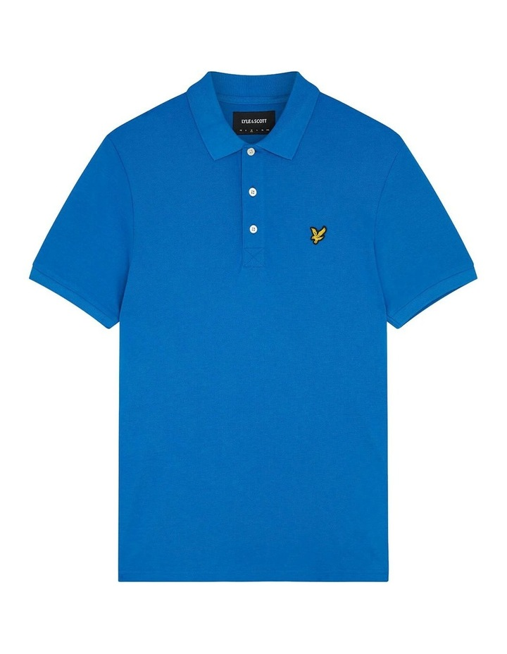Plain Polo Shirt Blue image 5
