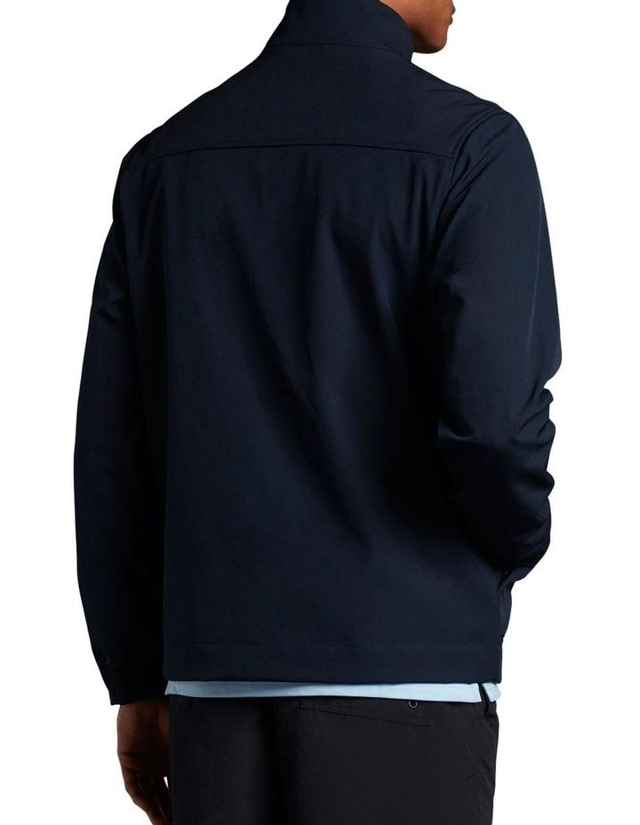 Funnel Neck Softshell Jacket Navy image 3