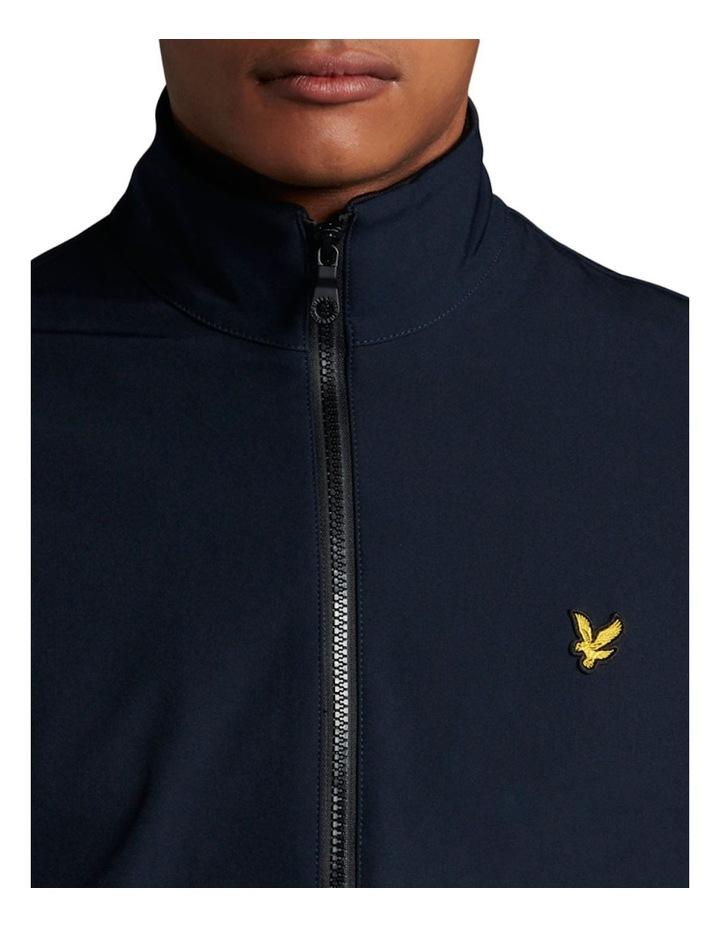 Funnel Neck Softshell Jacket Navy image 4