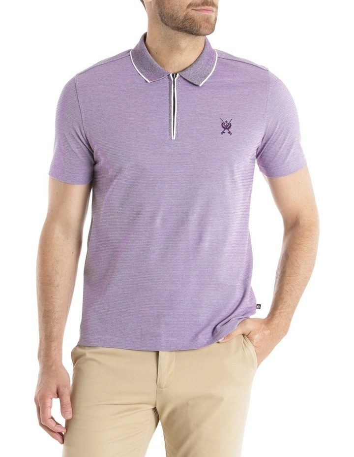 Zip Front Polo image 1