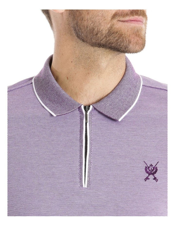 Zip Front Polo image 4