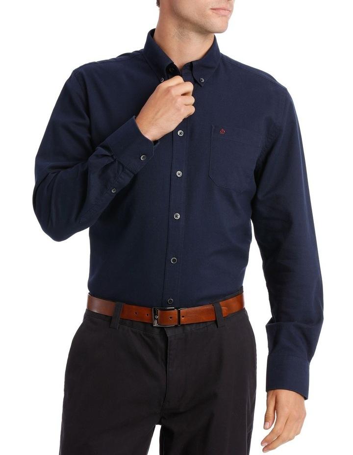 Washed Oxford Long Sleeve Shirt image 1