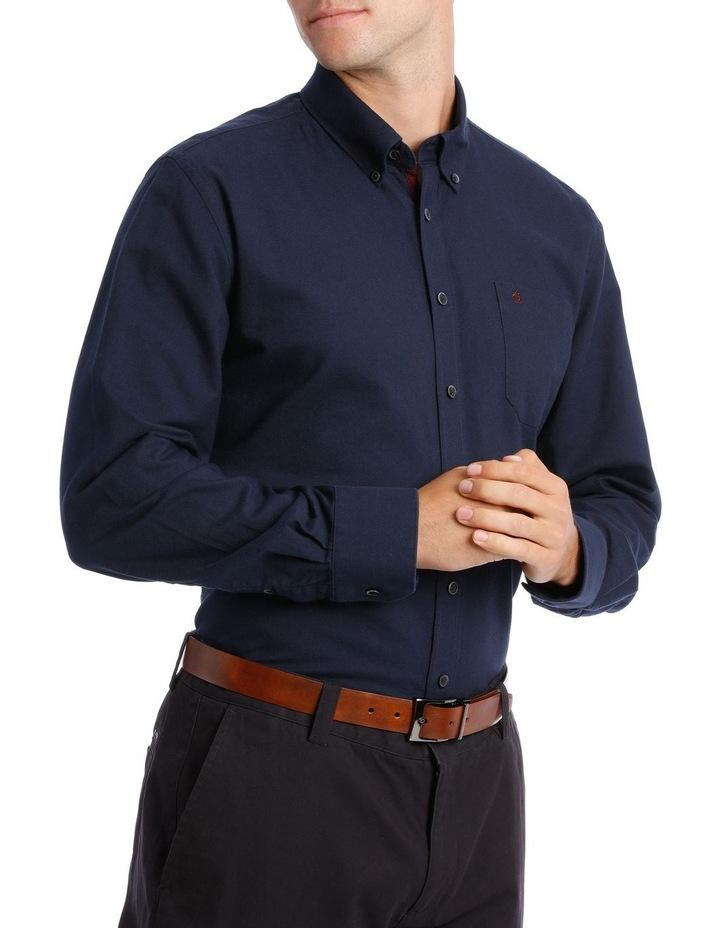 Washed Oxford Long Sleeve Shirt image 2