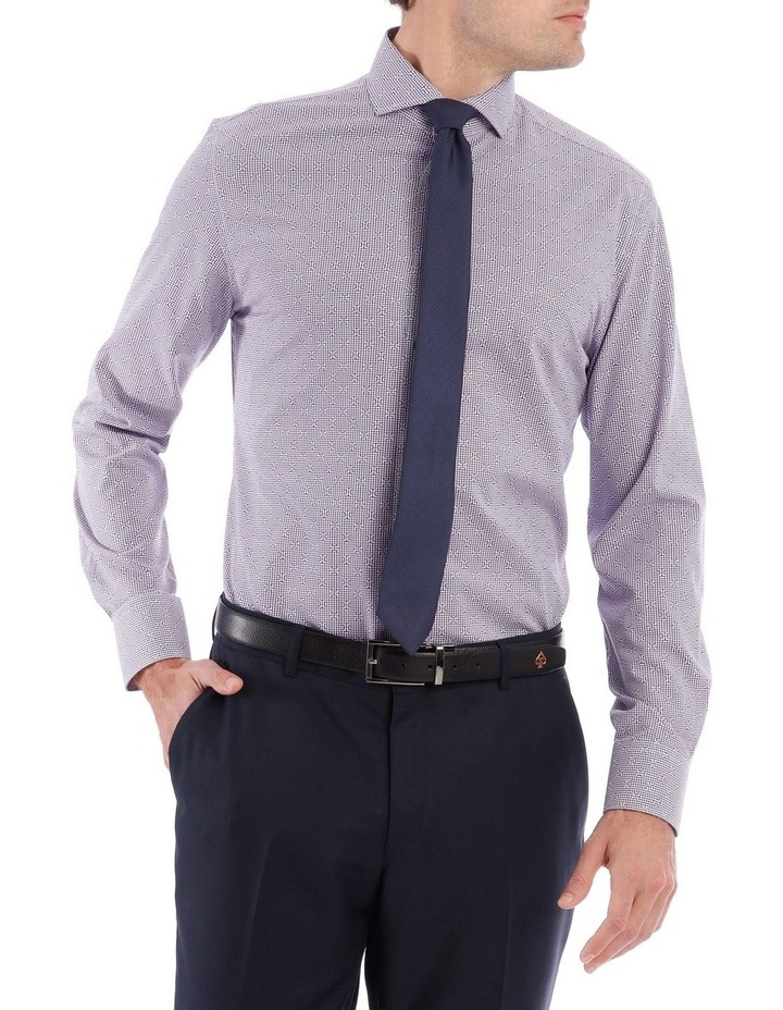 Diamond Geo Dobby Long Sleeve Shirt image 1