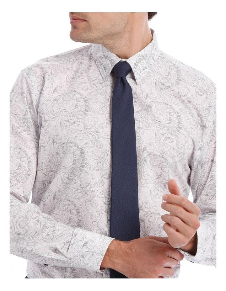 Layered Paisley Print Long Sleeve Shirt image 4