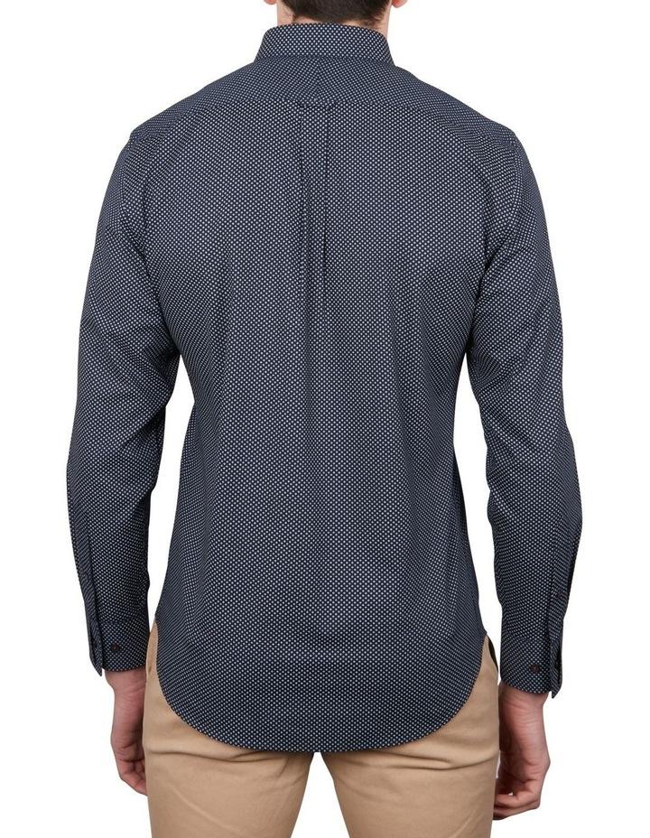 Diamond Dot Print Long Sleeve Shirt image 2