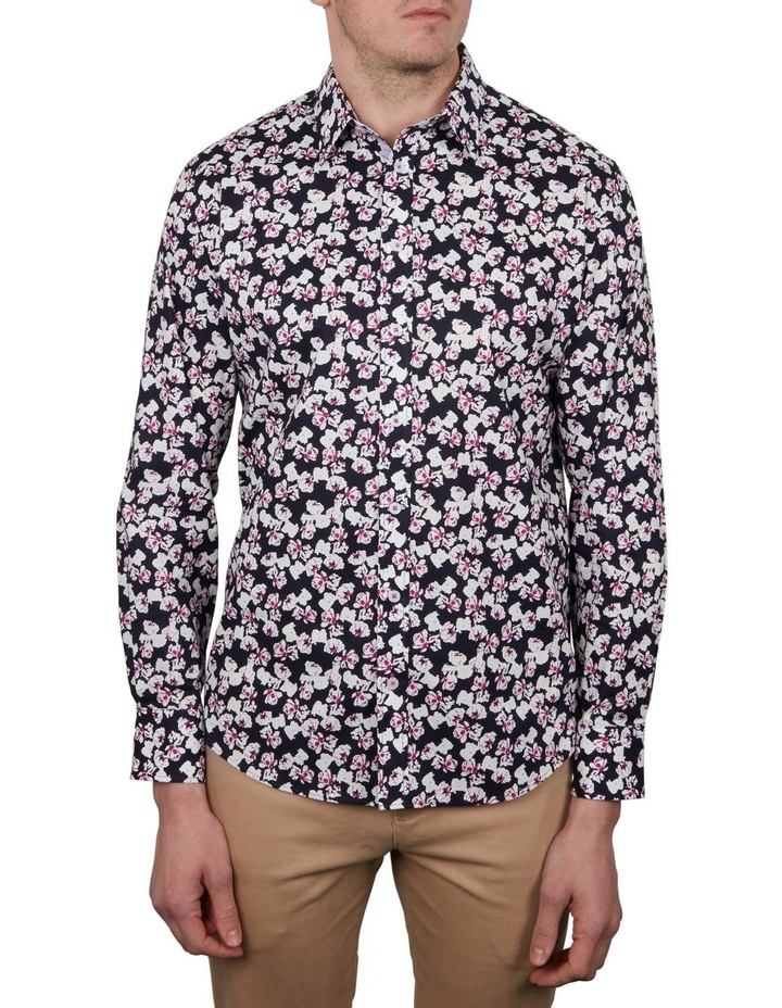 Flower Print Long Sleeve Shirt image 1
