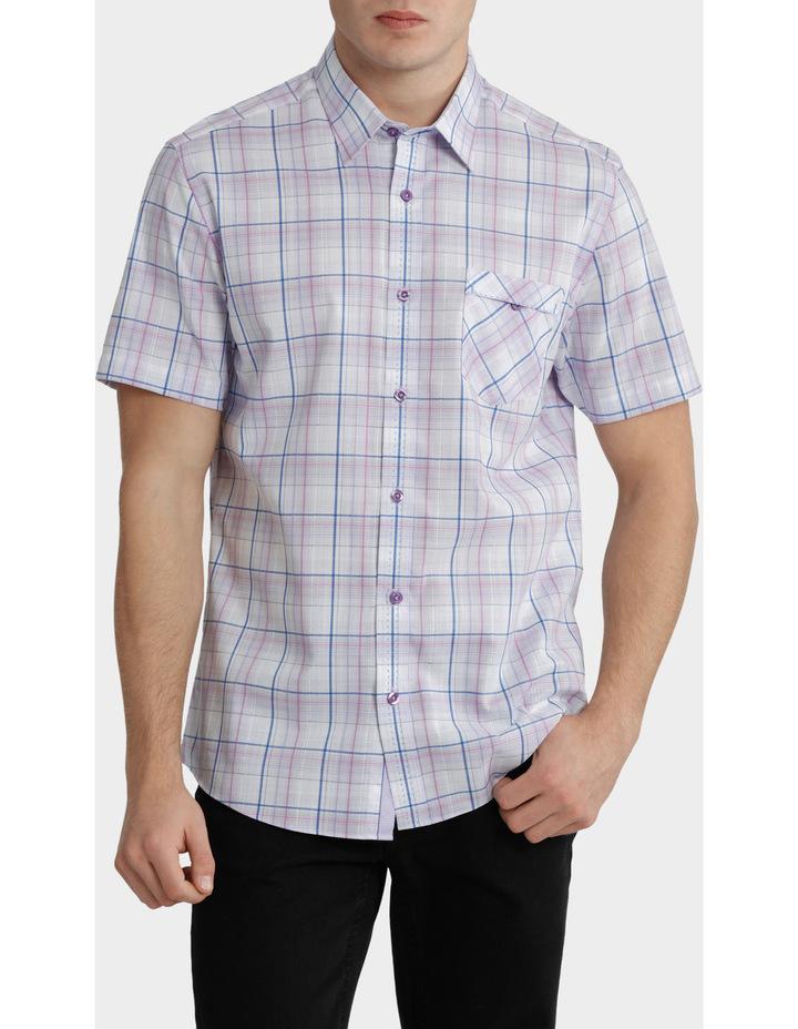 Short Sleeve Check Multi Shirt image 1