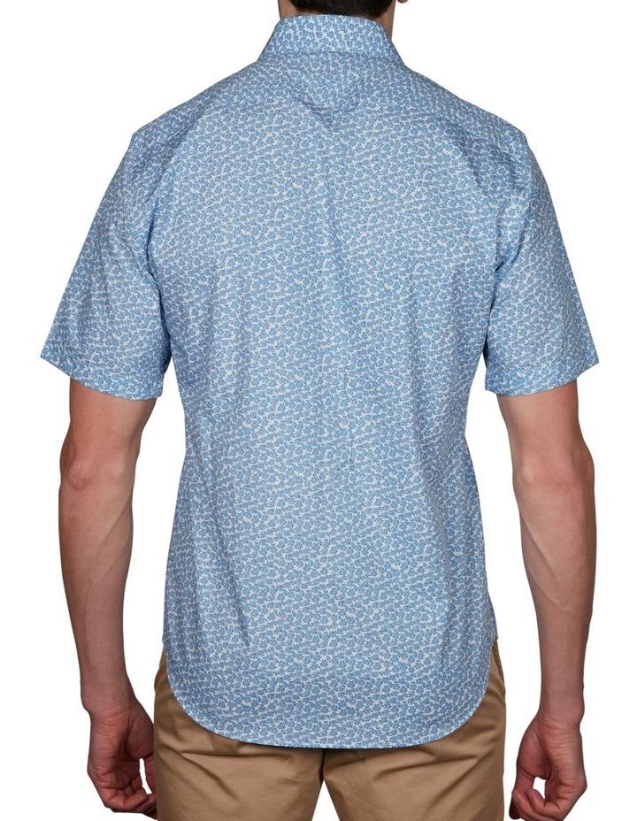 Leaf Print Short Sleeve Shirt image 2