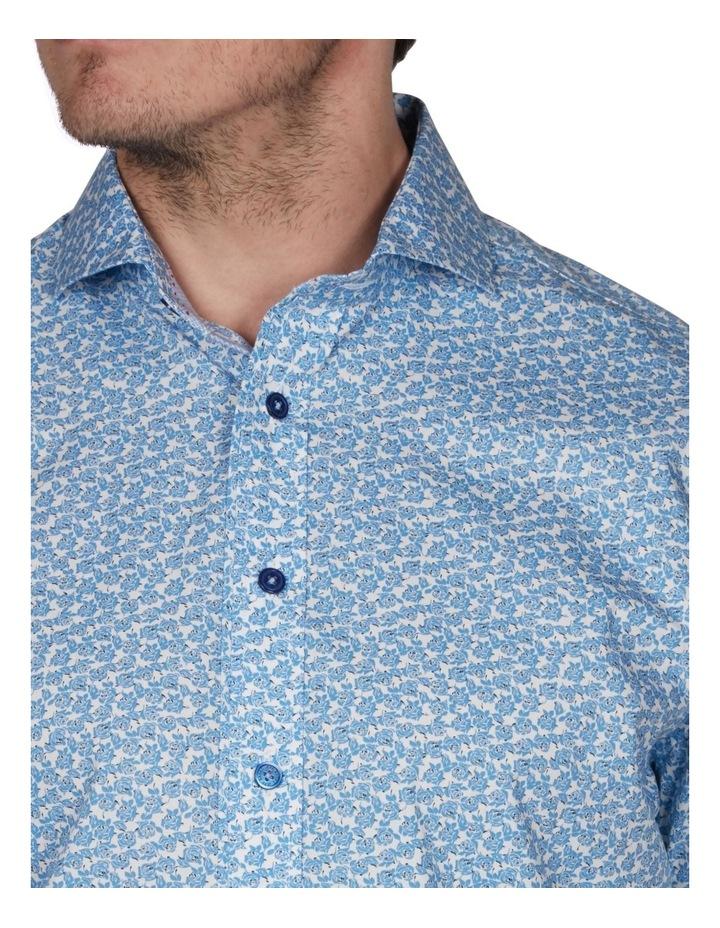 Leaf Print Short Sleeve Shirt image 3