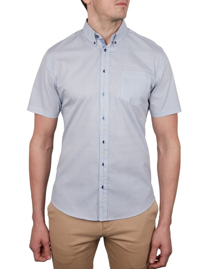 Fishies Print Short Sleeve Shirt image 1