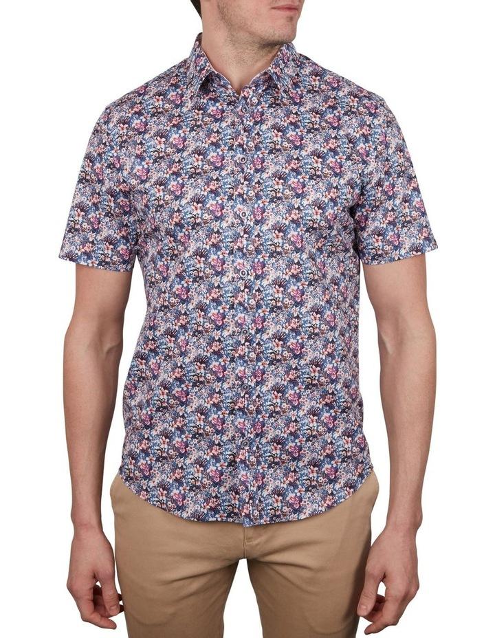 Rhododendron Print Short Sleeve Shirt image 1