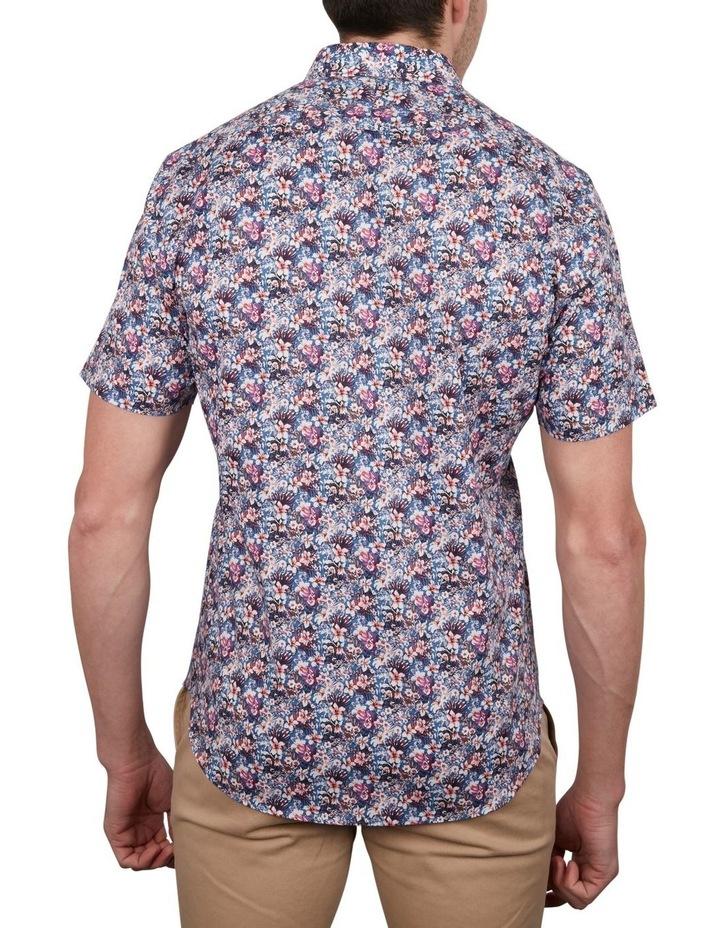 Rhododendron Print Short Sleeve Shirt image 2