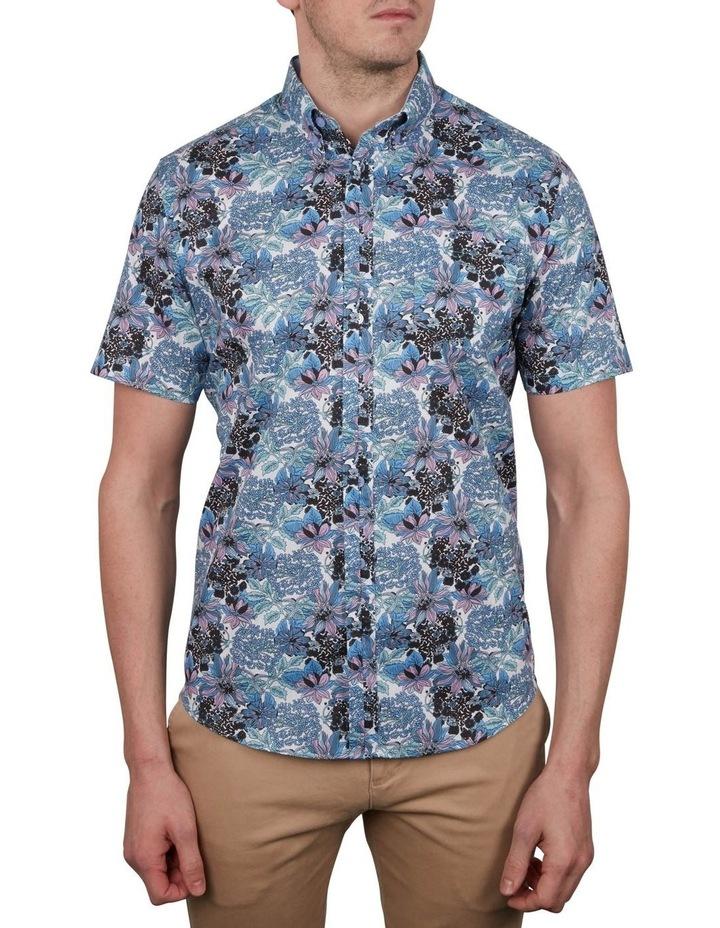 Tropical Print Short Sleeve Shirt image 1