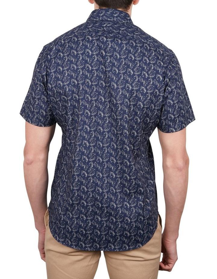 Printed Puppytooth Short Sleeve Shirt image 2