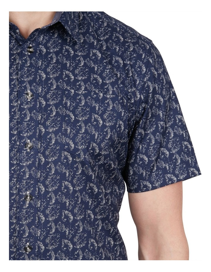 Printed Puppytooth Short Sleeve Shirt image 4