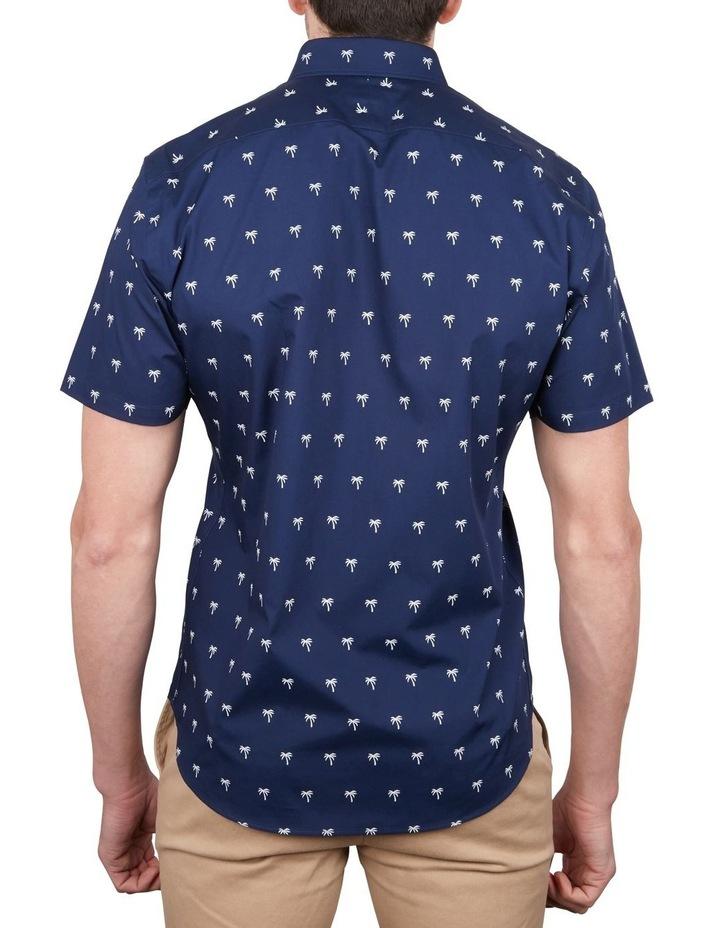 Palm Print Short Sleeve Shirt image 2