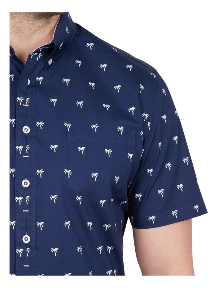 Palm Print Short Sleeve Shirt image 4