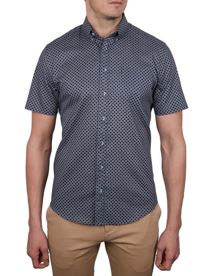 Satellite Print Short Sleeve Shirt image 1