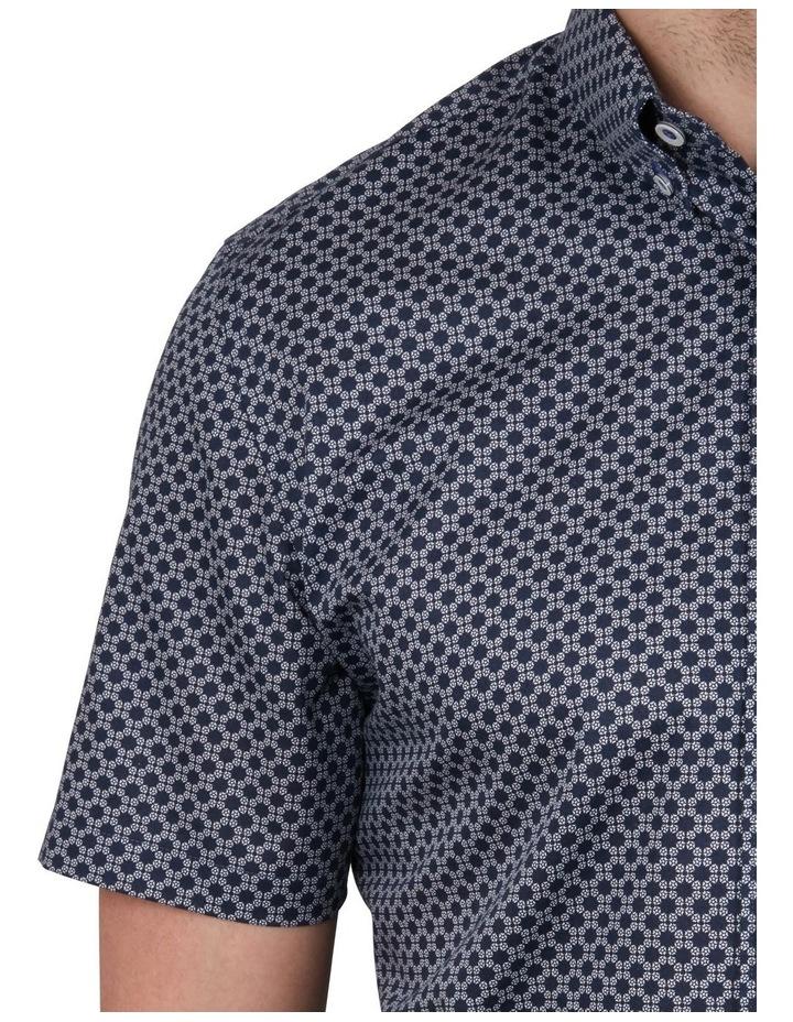 Satellite Print Short Sleeve Shirt image 4
