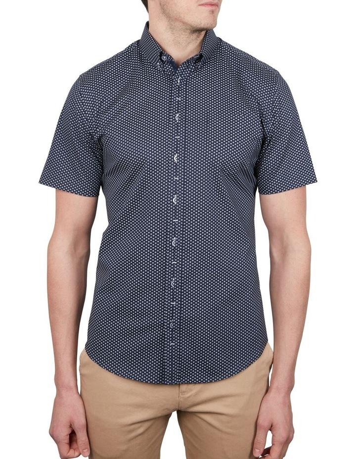 Sharp Daisy Print Short Sleeve Shirt image 1