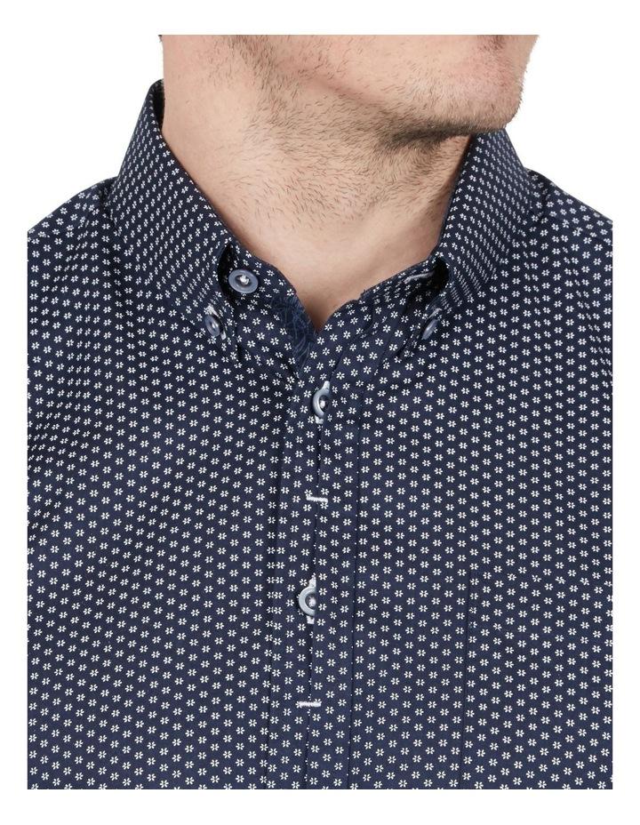 Sharp Daisy Print Short Sleeve Shirt image 3