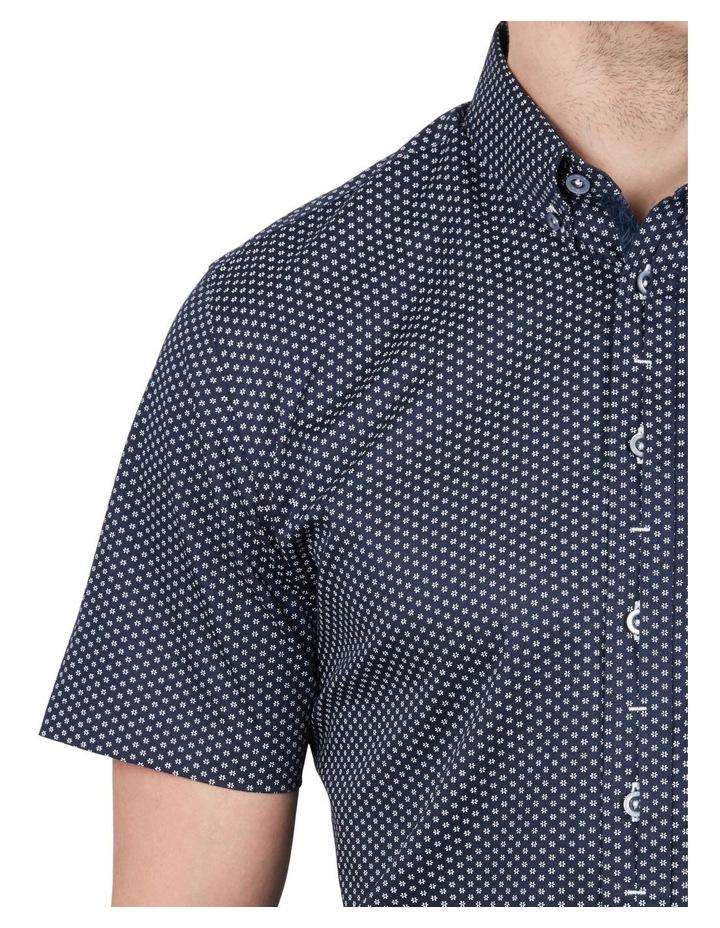 Sharp Daisy Print Short Sleeve Shirt image 4