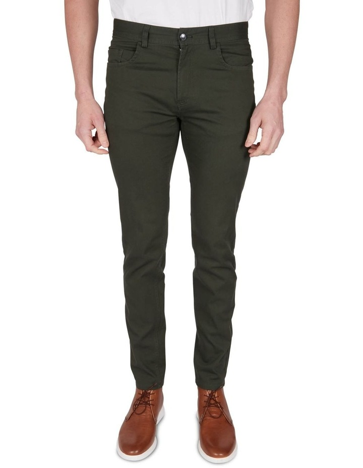 Stretch Canvas 5Pkt Pant image 1