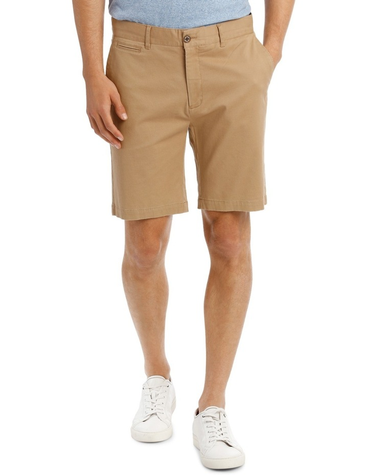 Slim Stretch Cotton Twill Short image 1